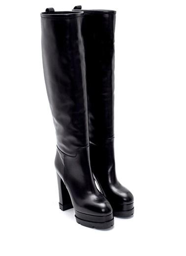 Derimod Kadın Çizme (20808) Casual Siyah